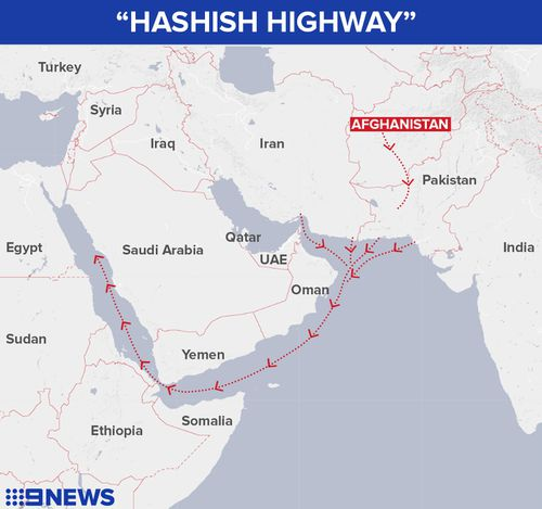 The Hashish Highway