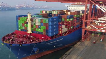 Australia owns only a few dozen bulk carriers.