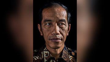 The portrait of Indonesian President Joko Widodo for TIME magazine. (Adam Ferguson)