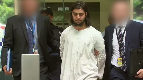 First look: The 21-year-old Greenvale man, Hanifi Halis, charged with one count of preparing a terror attack.