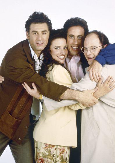 Michael Richards, Seinfeld cast, Julia Louis-Dreyfus, Jerry Seinfeld, Jason Alexander