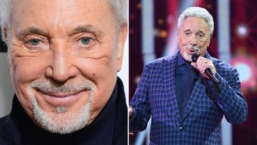 Sir Tom Jones has been hospitalised after being diagnosed with a bacterial infection. Image: PA