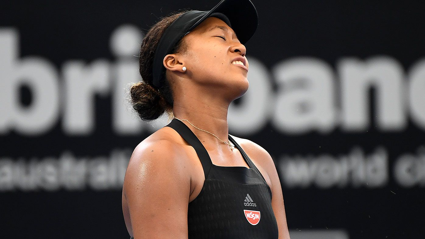 Tennis Naomi Osaka upset by Lesia Tsurenko in Brisbane International semifinal
