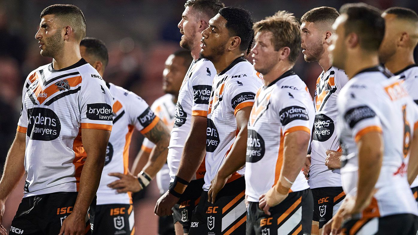 Brad Fittler says the Wests Tigers won't be successful until they stop media leaks