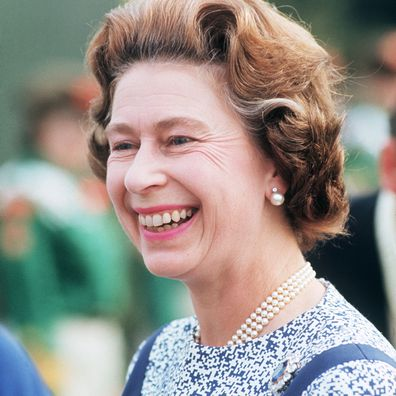 Queen Elizabeth in 1975