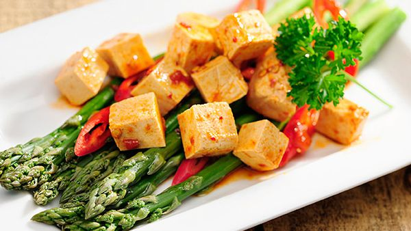 New Atkins chilli tofu