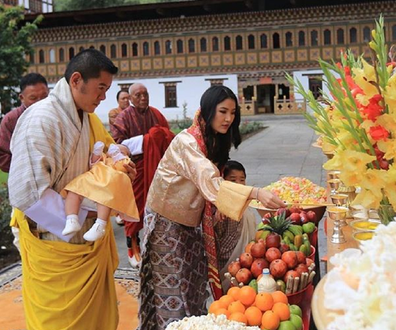 Bhutan royal family ceremony