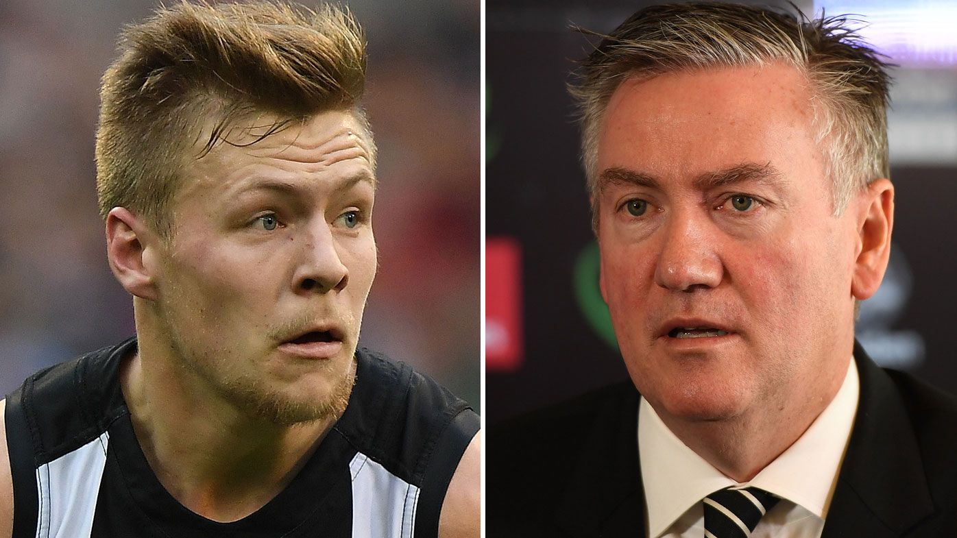 Collingwood AFL Magpies president Eddie McGuire slams Jordan De Goey's drink driving charge as 'unacceptable'