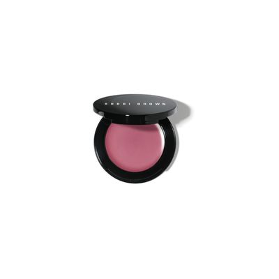 "<a href=""https://www.bobbibrown.com.au/product/2342/20488/Makeup/Lips/Lip-Color/Pot-Rouge-for-Lip-Cheeks/New-Shades"" target=""_blank"">Bobbi Brown Pot Rouge in Powder Pink, $45.</a>"