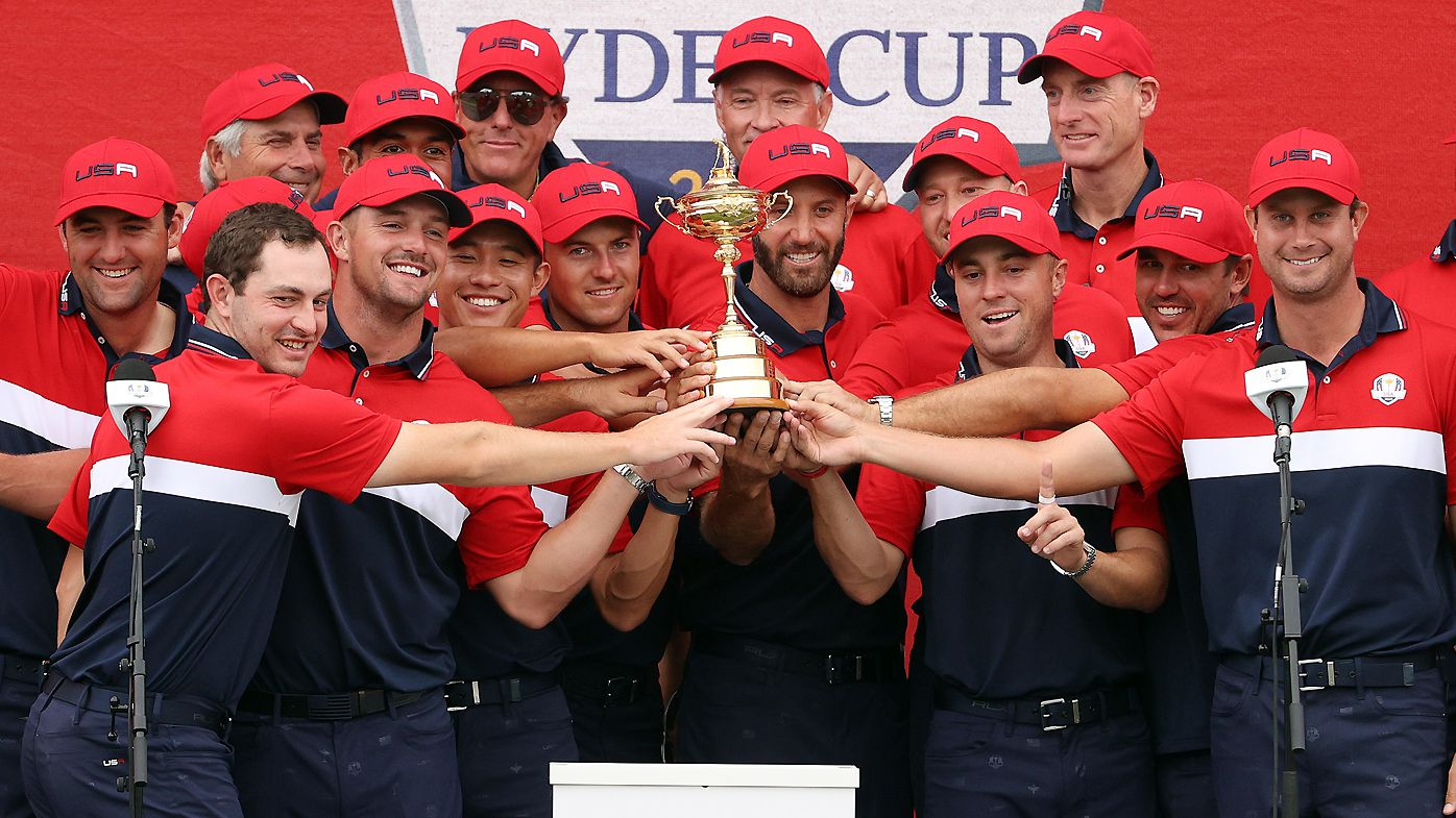 Tears and beers after USA's dominant Ryder Cup triumph over Europe, Rory McIlroy breaks down