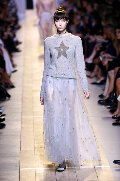 The look on the runway at Dior, spring/summer '17, Paris fashion week.
