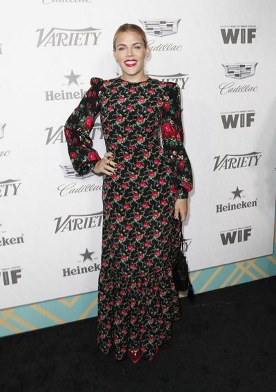 Busy Philipps attends Variety and Women In Film's 2018 Pre-Emmy Celebration.