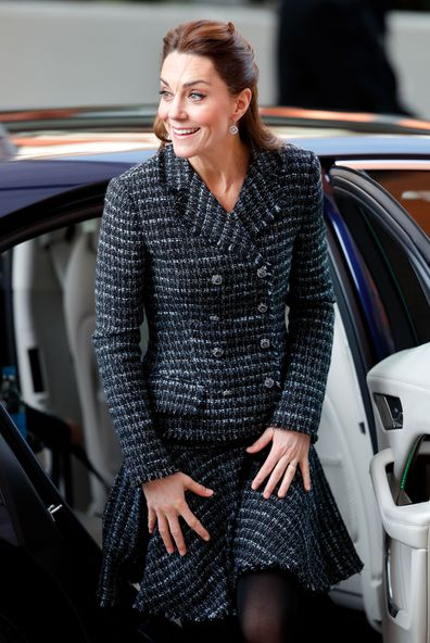 Kate Middleton Duchess of Cambridge no engagement ring hospital visit