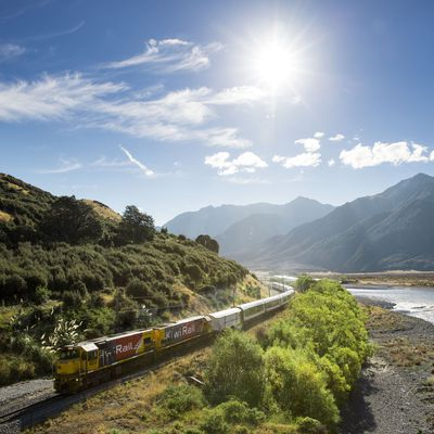 Take one of the most spectacular train journeys in the world