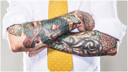 People with visible tattoos are more likely to be reckless and act impulsively, a study has found.