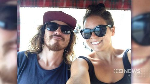 Matt Lee and his girlfriend. (Supplied)