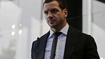 Jarrod Mullen leaves Newcastle Local Court in Newcastle in June this year.