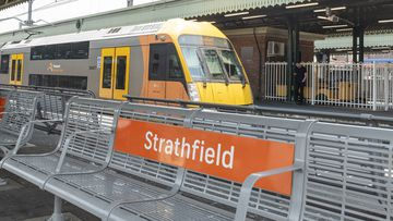 A general photo of Strathfield train station.