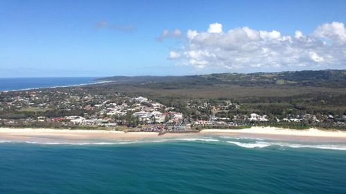 Surfers and swimmers are being advised to stay out of the water. (9NEWS)