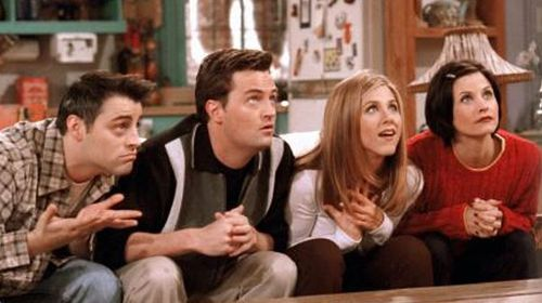 The computer writing new episodes of 'Friends'