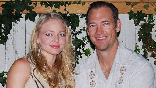 A Facebook post showing Cristie Shoen Codd and her husband, Joseph. (supplied)