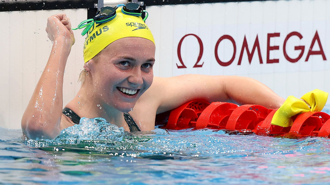 Titmus beats Ledecky to gold in Olympic blockbuster