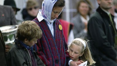 Royal mums: Princess Anne