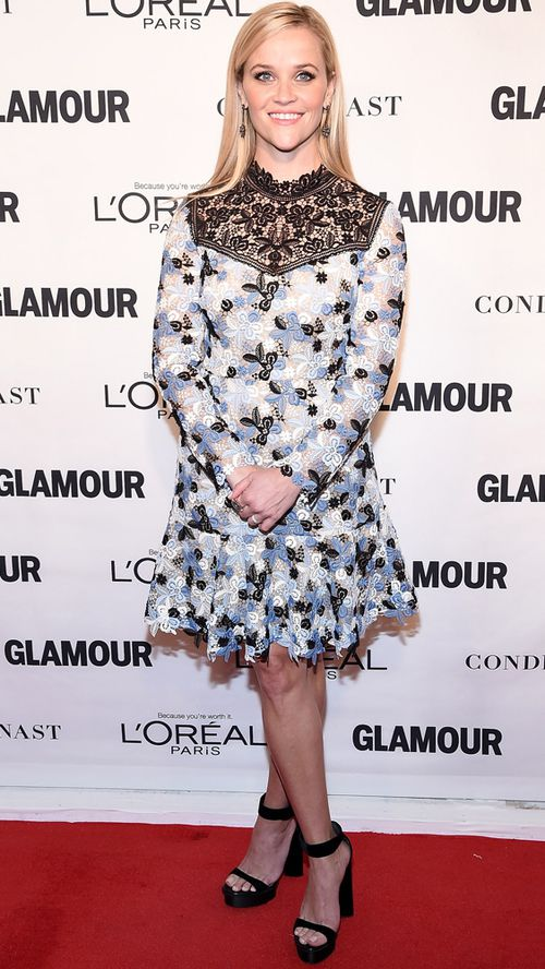 Reese Witherspoon was honoured at the 25th Glamour Women of the Year Awards. (Getty)