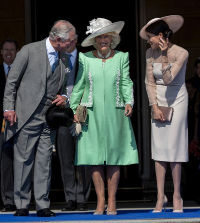 Prince Charles's garden party, May