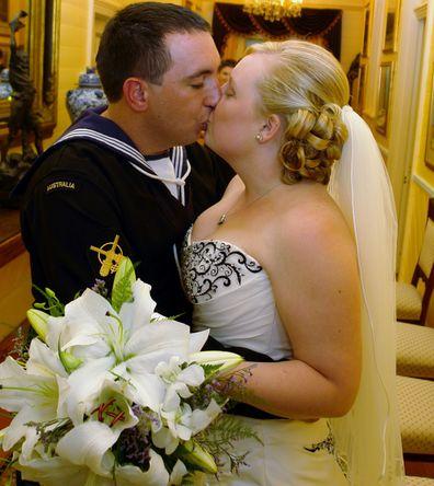 Ben and Alyssa were married in 2011.