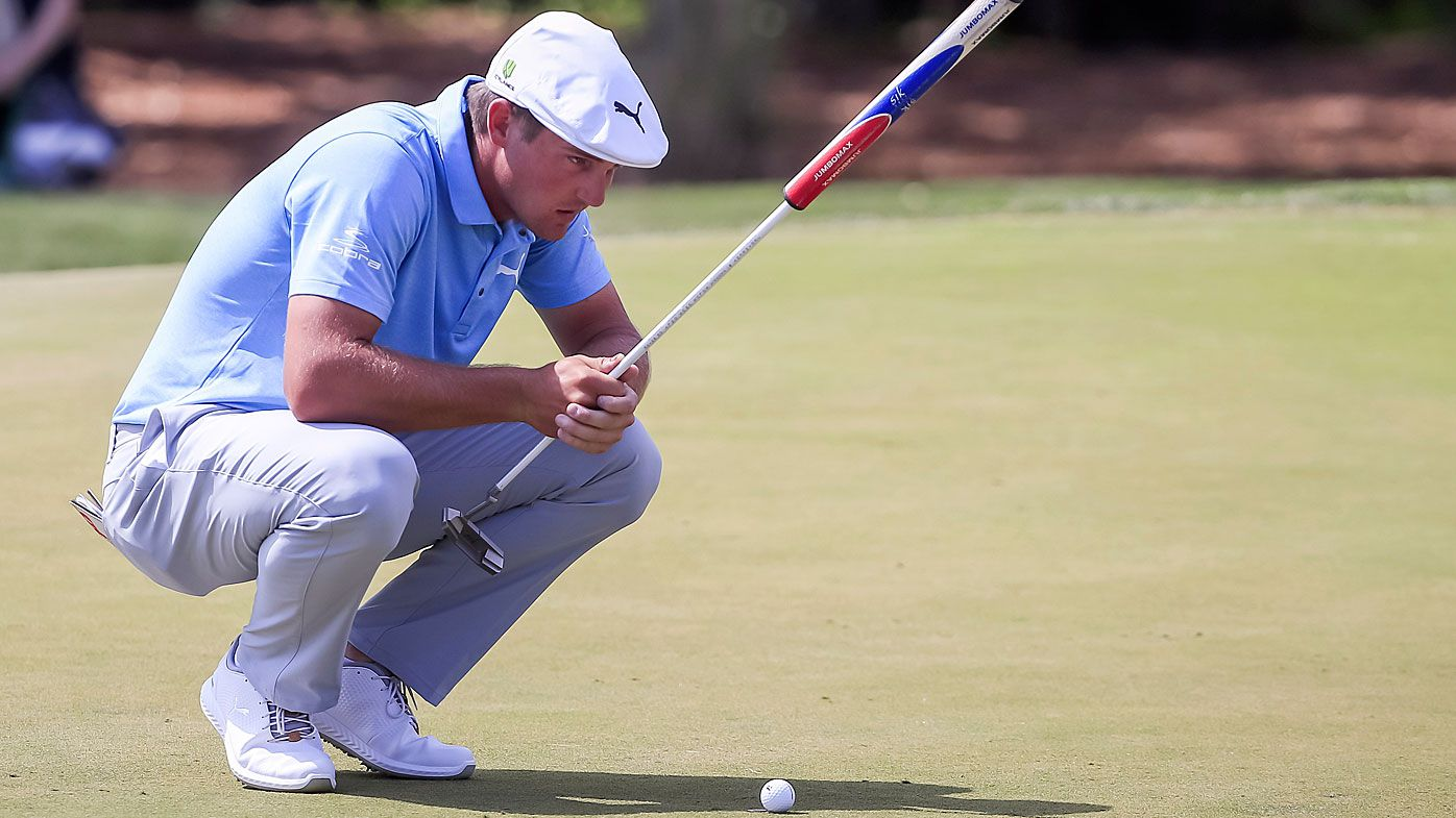 Bryson DeChambeau meticulously studies every putt