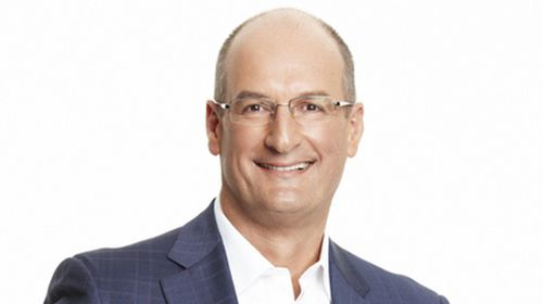 Sunrise co-host David Koch.