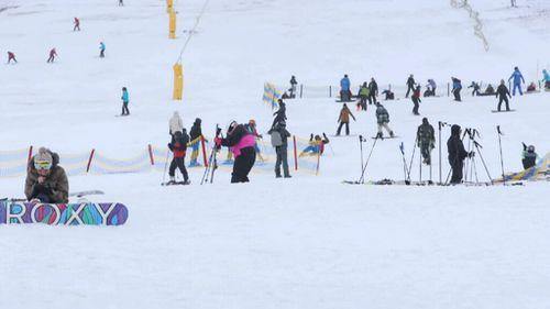 Snow has fallen in NSW and Victoria's alpine regions. (9NEWS)