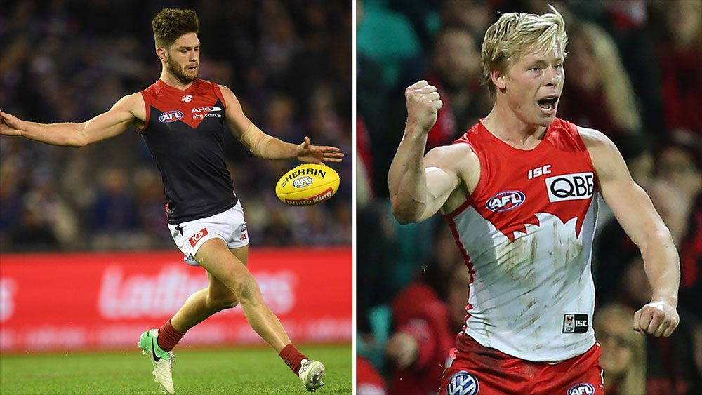 Melbourne and Sydney both have plenty to play for at the MCG. (AAP)
