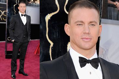 Channing working his magic.