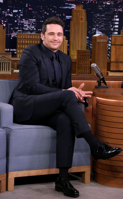 James Franco, interview, The Tonight Show Starring Jimmy Fallon, December 2017