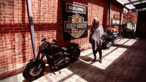 Andrea said the Harley-Davidson business was her late husband's passion.
