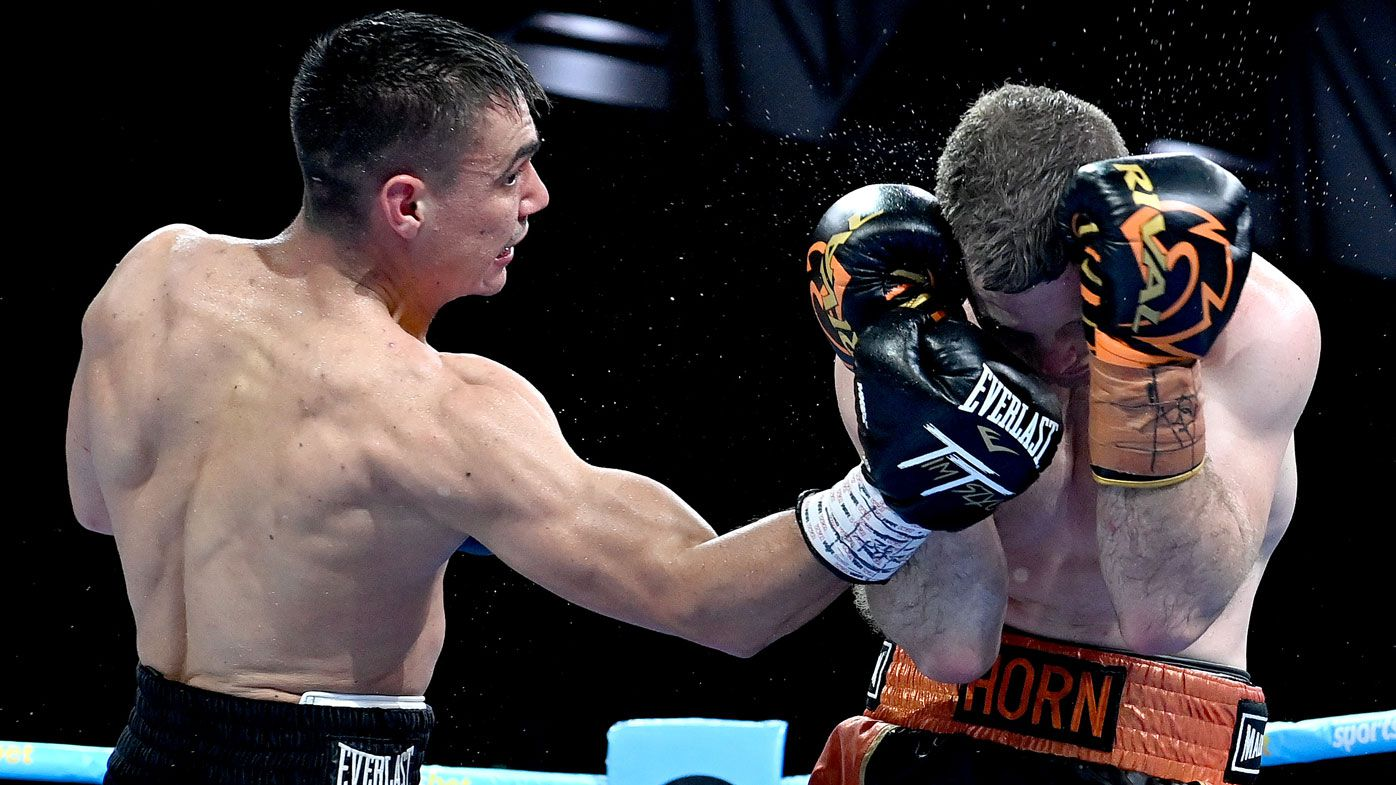 Jeff Horn urged to retire from boxing after being battered in TKO loss to Tim Tszyu
