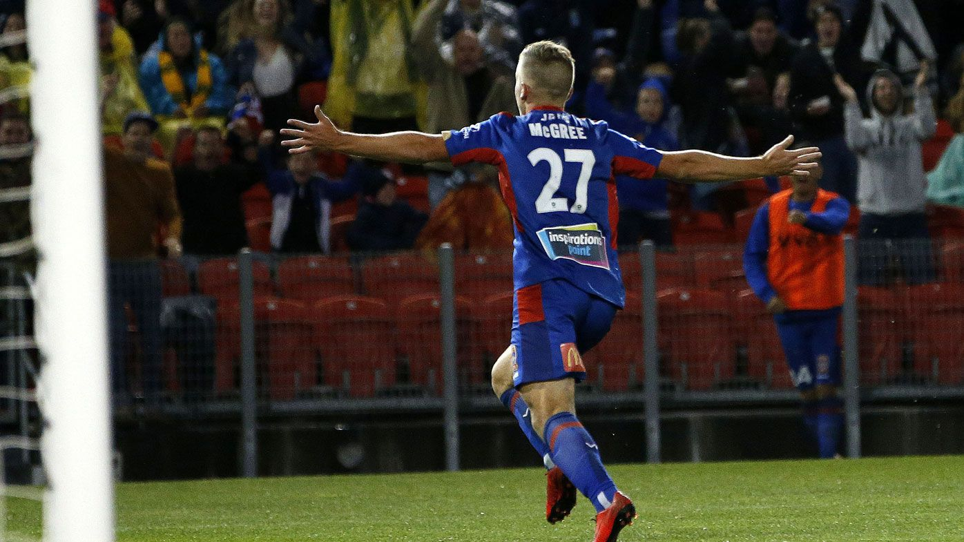 Calls for Riley McGree's A-League goal to win FIFA's Puskas Award