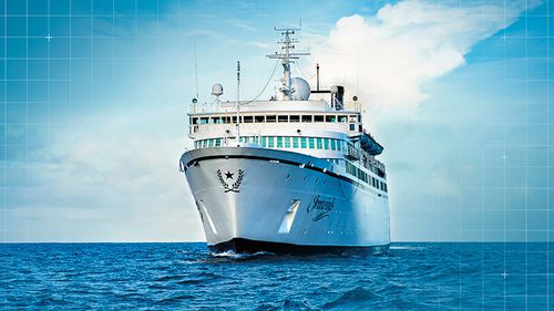 """The """"Freewinds"""" ship owned by Scientology"""
