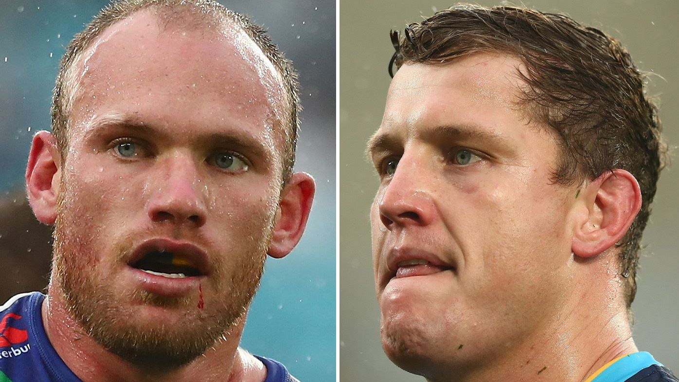 'Sign the f--king contract': Titans hardnut Jarrod Wallace challenges bristling Warrior Matt Lodge to boxing duel