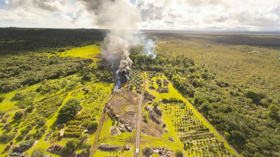 "Pahoa residents will be allowed to watch their homes consumed by the lava as a form of ""closure"". (Getty)"