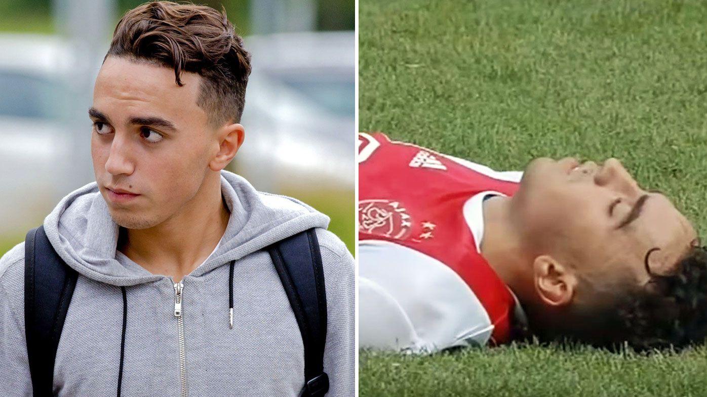 Abdelhak Nouri collapses