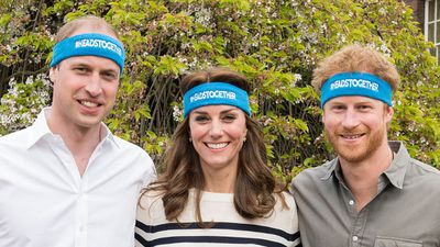 Prince Harry and the Duke and Duchess of Cambridge launch Heads Together, April 2016