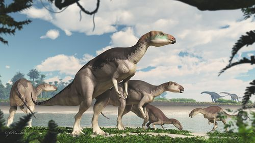 Dinosaur herd found fossilized in gemstones in Australia