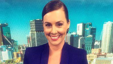 Nine News presenter Eva Milic
