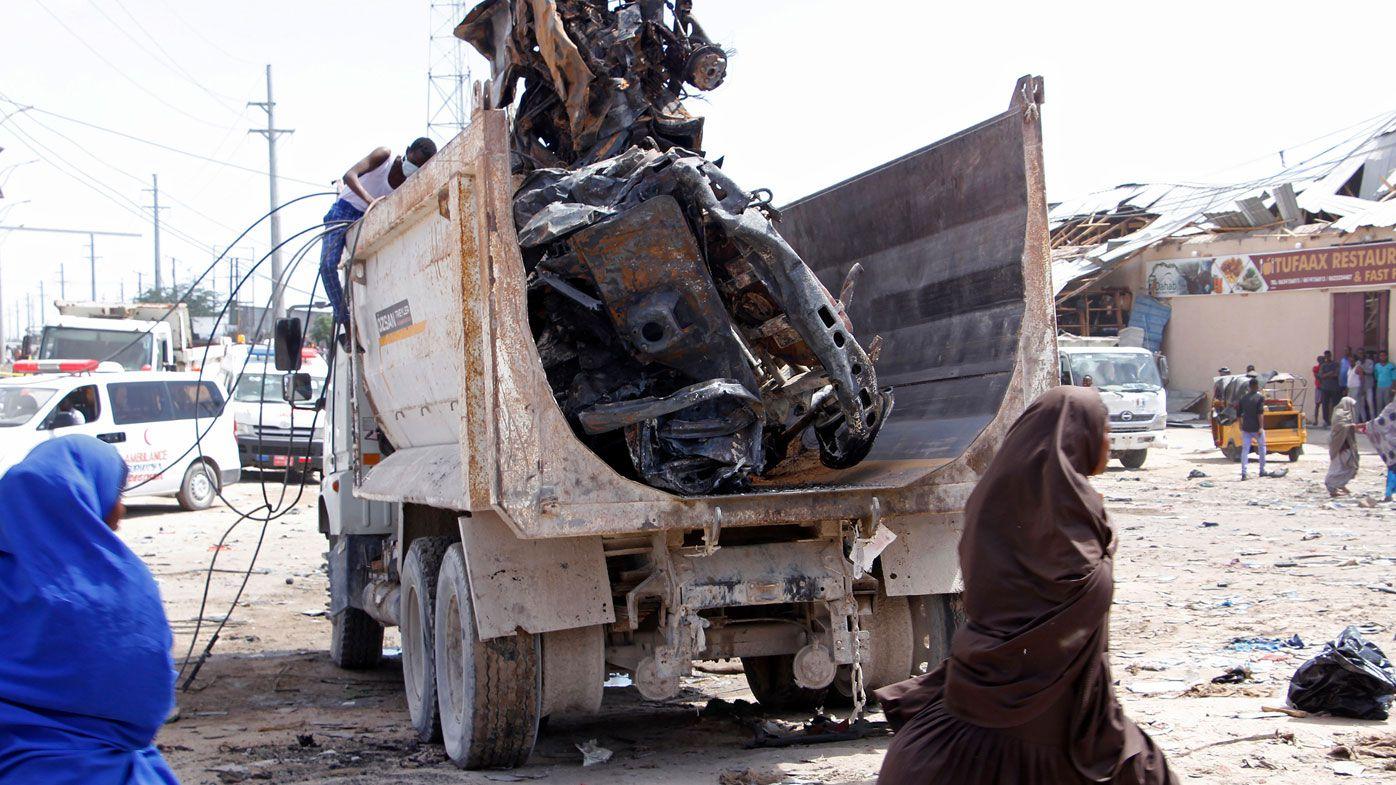 At least 79 killed after truck bomb blast in Somali capital