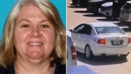 She fled to Florida before police found her husband's bullet riddled body in their bedroom.