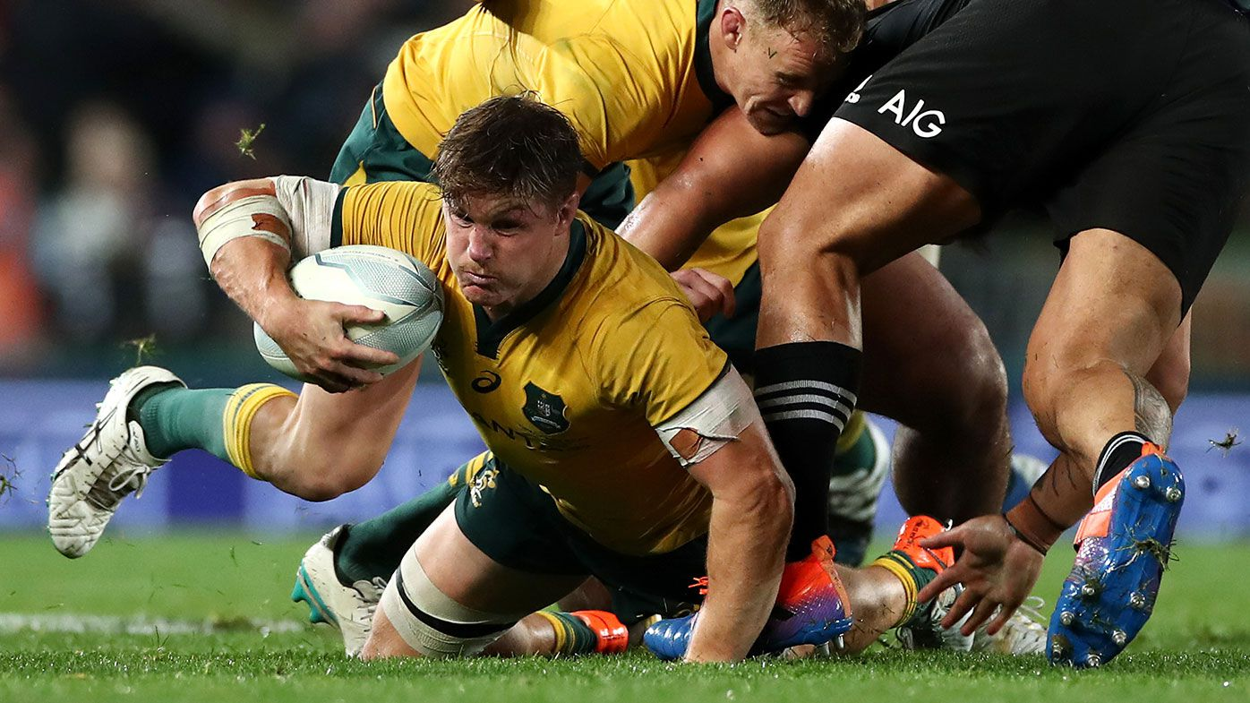 Wallabies coach Dave Rennie pledges support for Michael Hooper to remain captain