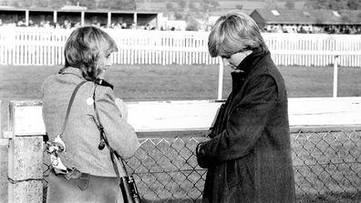 Camilla Parker Bowles and Princess Diana
